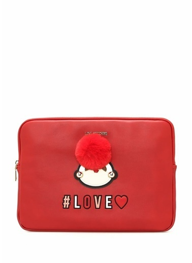 Love Moschino Laptop /Evrak Çantası Kırmızı